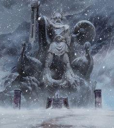 Asgard - Odin's Statue