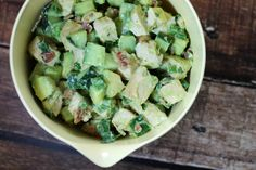 Avocado Chicken Salad - Emily Bites