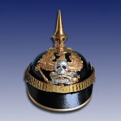 Duchy of Brunswick Officer Ranks of the 3rd Battalion of the Brunswick Infanterie Regiment IR 92 pickelhaube.