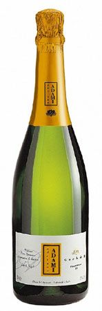 Adami Prosecco Garbel 13 - Champagne & Sparkling $14.99 Non-Vintage by Adami from Trentino-Alto Adige, Italy. Garbel, which in ancient local dialect means a dry, crisp, pleasantly tart wine, is produced from the hilly vineyards in the Colli Trevigiani area.