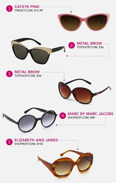 The best sunnies for