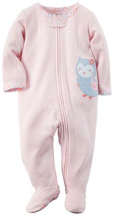 Carters Baby Girls' Owl Sleep N Play (3 Months)