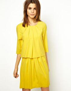 Y.A.S | Y.A.S Trixa Dress in Lux Crepe at ASOS