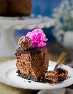 No bake eggless ferrero rocher mousse cake is a sinful decadent cake with easy preparation that anyone can make. Perfect for birthday's or any party.