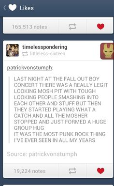 What A Catch Donnie - Fall Out Boy <3