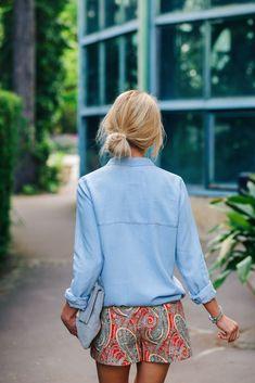 Summer Street Style | Source: lillyandleopard - Katarzyna Tusk, Make Life Easier | Pinned via sheslikeaghost