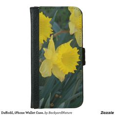 Daffodil, iPhone Wallet Case. iPhone 6 Wallet Case