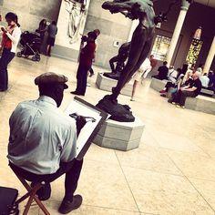 Quality artist @ the Met. #metart #metropolitanmuseamofart #ny #drawing #ny #newyork #instahub #instagold #instagood #instamood #picoftheday #tweegram #ny #street #newyork #instahub #instagold #instagood #instamood #picoftheday #tweegram #raybans #iphoto #instaart #instatalent #instadaily #instatalent #instaphoto #photography #photography #travel