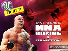 Fight Tv is a leading mma fighters, mma live events videos, boxing, pro-wrestling, fighting live events in Qatar. We are offering latest and trending videos, in specially for Ooredoo   Qatar Mobile Operators Subscribe Now it link: http://wap.mcomviva.com/fight