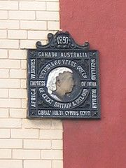 Another Queen Victorian plaque on Westbourne Grove Redcar - Courtesy of  hidden-teesside.co.uk
