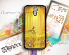 Triana and Prince Frog - Print On Hard Case Samsung Galaxy S4 i9500