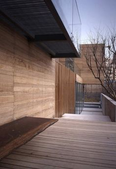 *architecture, design, outdoors, wood siding* - seBright: Meng House