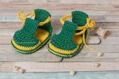 CROCHET PATTERN Crochet Baby Sandals baby crochet pattern