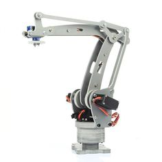 A description of SainSmart DIY Control Palletizing Robot Arm Model for Arduino UNO a learning kit to experiment with robotics and Arduino programming. Robotics Projects, Cnc Projects, Arduino Projects, Mechanical Arm, Mechanical Design, Arduino Controller, Cnc Router Plans, Robot Hand, Diy Robot