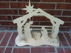 We have bought back our Nativity Scene again this year, can be found in our Etsy store