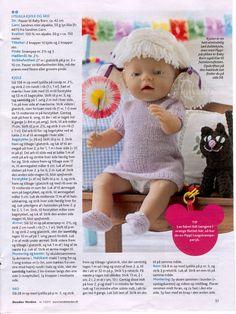 Album Archive - Baby Born & Build-a-Bear 4 Doll Clothes Patterns, Doll Patterns, Clothing Patterns, Reborn Dolls, Baby Dolls, Build A Bear, Knitted Dolls, Free Pattern, My Design