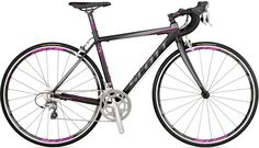 Really any road bike would do.  This was a great deal. Scott Contessa Speedster 15 Women's Bike - 2012 at REI.com