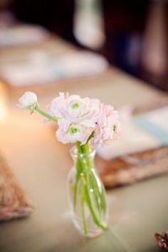 Pink-Ranunculus-Centerpiece