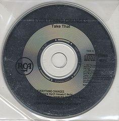 """For Sale - Take That Everything Changes UK Promo  CD single (CD5 / 5"""") - See this and 250,000 other rare & vintage vinyl records, singles, LPs & CDs at http://eil.com"""