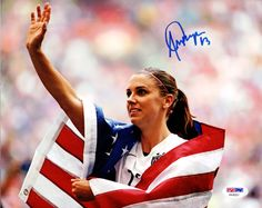 Alex Morgan Autographed 8x10 Photo Team USA PSA/DNA Stock #98176