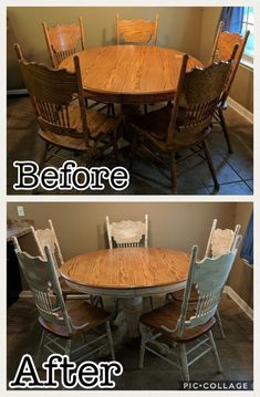 My DIY kitchen table make over. Chalk paint, antiquing, and a little sanding turned out just right for my shabby chic look. My DIY kitchen table make over. Chalk paint, antiquing, and a little sanding turned out just right for my shabby chic look.