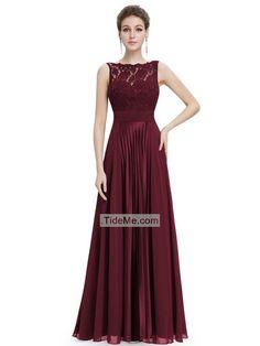 MACloth Women A Line Sequin Long Bridesmaid Dress Evening Formal Party Gown (EU32, Negro)