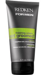 GET GROOMED FINISHING CREAM -- Light weight finishing cream for men with an enhanced formula to create smoother and natural looks.