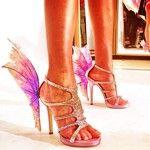 Amazing runway shoes.