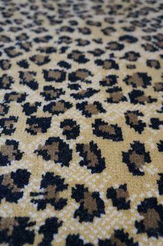 Animal Print Wool Carpet Rugs Runners