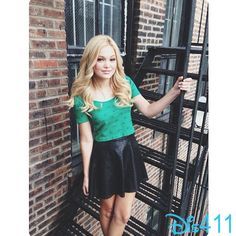 Olivia Holt in NYC