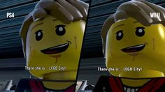 [VIDEO] LEGO City Undercover - PS4 vs. Wii U Graphics and Load Times Comparison #Playstation4 #PS4 #Sony #videogames #playstation #gamer #games #gaming