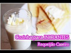 Requeijão Caseiro de Liquidificador (Fácil): Cozinha para Iniciantes #to...