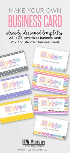 lularoe size card, lularoe business card ideas, LuLaRoe fashion consultant…