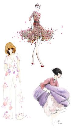 Illustrations above (clockwise from top): Tim Pham, Lisanne Gagnon, and Janice Chuang.