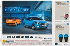 View Hyundai Presenting The New 2018 Elite Head Turner Ad newspaper. This Ad is collection of Sample Ad at Advert Gallery. Car Advertising, Ads, Car Banner, Hyderabad, Concept Cars, 20 Years, Presents, Logos, Gallery