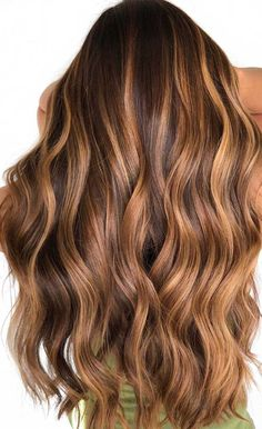 balayage hair color, fabmood, light brown hair color ideas, hair colours 2019 hair color trends, best hair color f Brown Hair Balayage, Brown Blonde Hair, Hair Color Balayage, Lowlights For Brown Hair, Balayage Hair For Brunettes, Hair Styles For Brunettes, Ginger Brown Hair, Highlights For Brunettes, Dark Brown Hair With Caramel Highlights