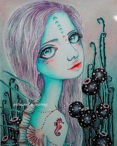 All done. My black flowers was inspired by @faynnn black frog☻ #tanyabond #tanyabondart #inklingscoloringbook #inklings #coloringbook #livredecoloriage #colouring #coloriage #coloriages #adultcoloringbook #coloring #creativecoloring #fineliner #coloriagepouradulte #coloringpencils #coloringtime #fairiesgarden #fairy #creature #marcorenoir
