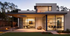 This lantern inspired house design lights up a California neighborhood | CONTEMPORIST