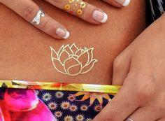 Yoga Corpo Jóias, Arte do Corpo de Yoga, Body Jewelry para Yoga, Yoga tatuagem temporária, Tatuagem Temporária Jóias Yoga Acessórios Body for Yoga