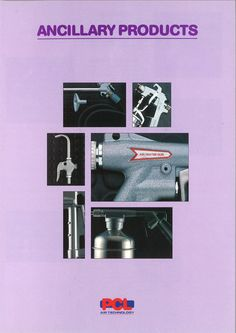 PCL - Ancillary Products mini catalogue from 1993.