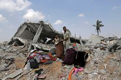 undated photo essay gaza war in pictures gaza under in this gaza neighborhood a possible i war crime