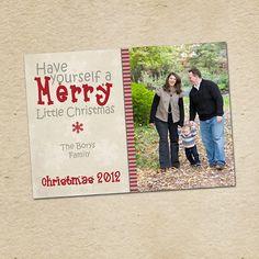 Custom Happy Holidays Christmas & Holiday by LilMonkeysDesigns, $15.00