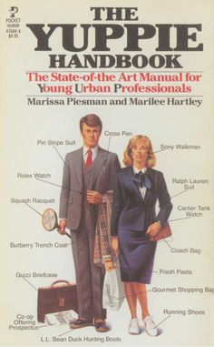 Yuppie Fashion: became popular in the until the stock market crash in Male yuppies would wear Italian double-breasted suits to work, and female yuppies would dress similarly just in female versions. Burberry Trenchcoat, Moda Hippie, Ralph Lauren Suits, Tank Watch, Cartier Tank, Power Dressing, Estilo Retro, Fashion Marketing, Young Professional