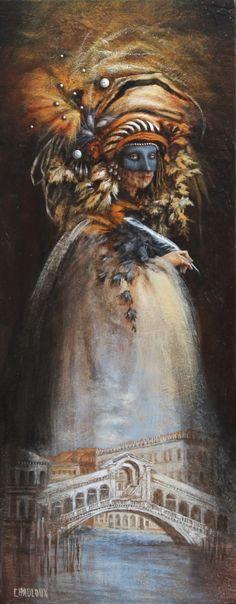 Catherine Chauloux L'écrivaine du Rialto (De schrijver van de Rialto)