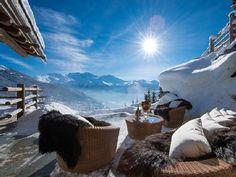 Ski Chalet - Verbier, Switzerland Ski Chalet, Verbier Chalet, Alpine Chalet, Chalet Design, Chalet Style, Hotel In Den Bergen, Chalet Interior, Interior Design, Interior Decorating