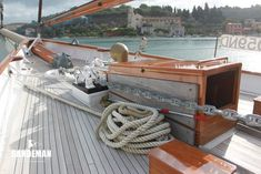 Cox & Stevens 135 ft Gaff Schooner 1930 - Sandeman Yacht Company Used Boat For Sale, Boats For Sale, Tall Ships Race, Anchor Systems, Guest Cabin, Used Boats, Super Yachts, Walk In Shower, Dog Houses
