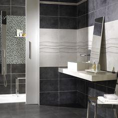 Les 138 meilleures images de carrelage salle de bains en - Faience salle de bain zen ...