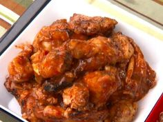 Carolina Wings recipe from Guy Fieri via Food Network Chef Recipes, Food Network Recipes, Appetizer Recipes, Great Recipes, Dinner Recipes, Cooking Recipes, Favorite Recipes, Savoury Recipes, Family Recipes