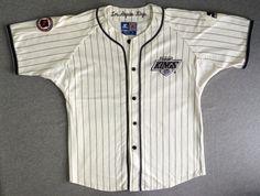 LA KINGS Jersey Vintage 1990's/ Los Angeles NHL by sweetVTGtshirt Vintage Jerseys, Los Angeles Kings, Retro Shirts, Baseball Jerseys, 1990s, Nhl, Shirt Dress, Cotton, Christmas