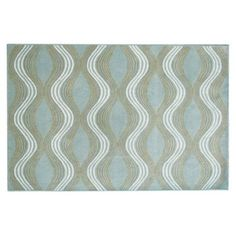 Check out this item at One Kings Lane! Rosalie Rug, Dusty Aqua